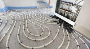 инженерные коммуникации, теплый пол