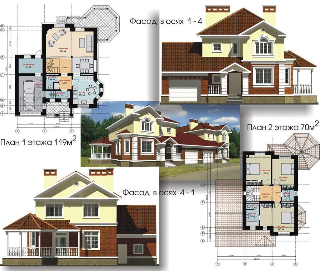 проектирование коттеджей